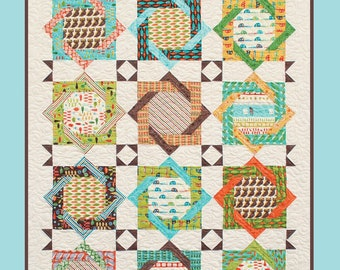 Camping in Style Quilt Pattern