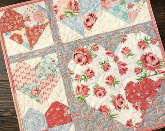 Love Note Mini Quilt Download Pattern
