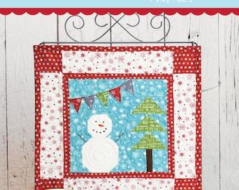 Seasons of Mini Winter Mini Quilt Download Pattern