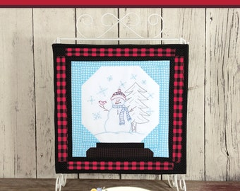 Snowball Jack Embroidery Pattern