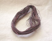 Sea Grass by The ThreadGatherer. SEA 119 Vintage Browns. 100 cotton fiber.