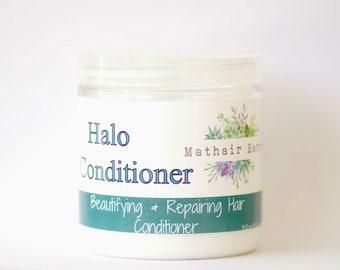 Halo Conditioner: Beautifying + Repairing Hair Treatment. Natural Conditioner. Conditioner. Hair Treatment Mathair Earth.
