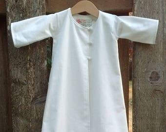 Kimono Style Infant Baptismal Gown
