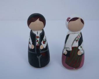 Traditional Romanian Children
