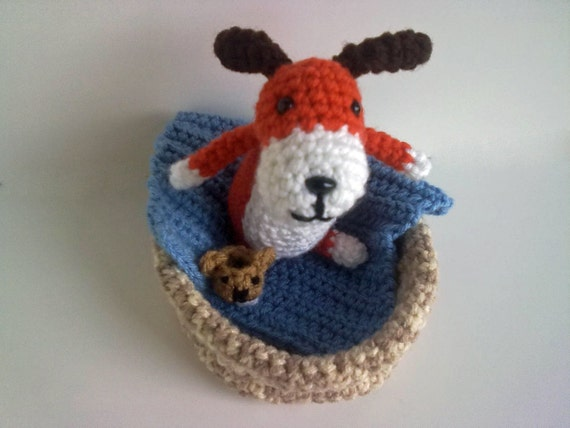 Häkeln Sie Muster das der Hund mit dem Pantoffel Play set | Etsy