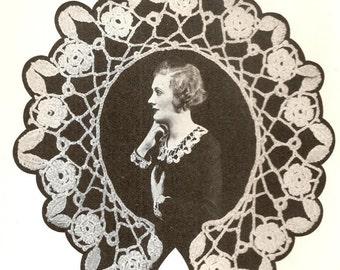 Irish Crochet Collar Vintage Crochet Pattern 234