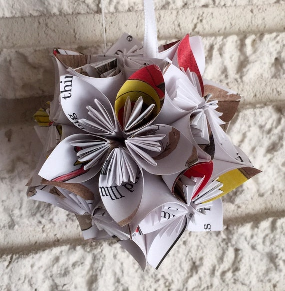Are you my mother book small paper flower pomander ornament mightylinksfo
