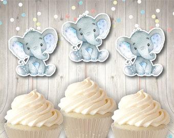 Elephant Cupcake Etsy