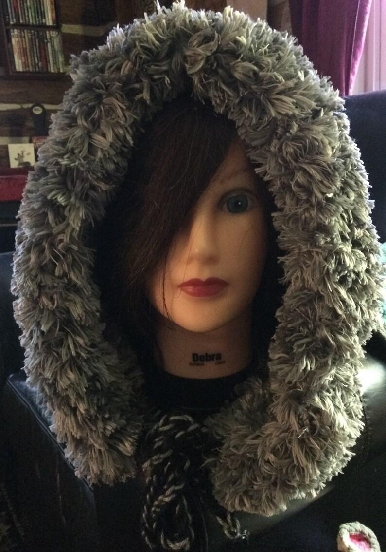 Winter Hood with Minky Furrrrrr