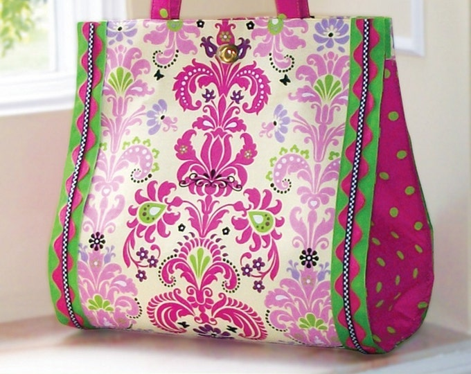 PDF Download of The Bon Vivant Bag Sewing Pattern -  (#114X)