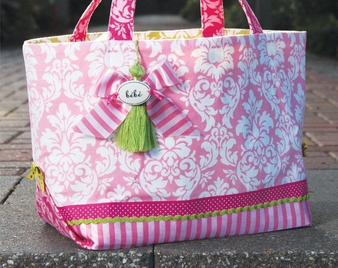 PDF Download of The Out 'N About Tote Bag DIY Purse Sewing Pattern - (#106X)