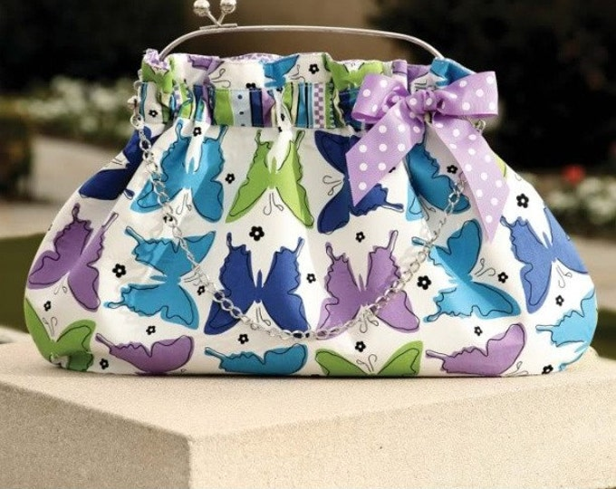 PDF Download of The Interchangeable 4 Bag DIY Purse Sewing Pattern (#117X)