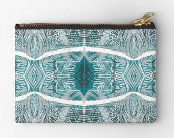 338f6fae0ea Porthole blue linocut design purse