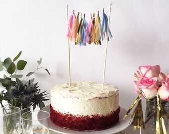 Mini-Tassel Cake Topper - Gumball
