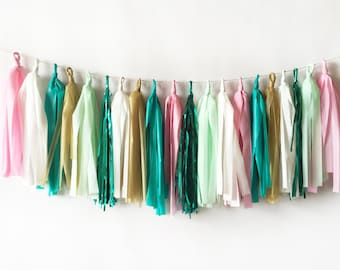 Gemstone Tassel Garland