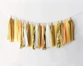 Custard Tassel Garland