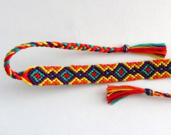 Friendship Bracelet -Taipa Bright -Made to Order