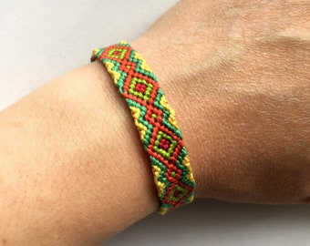 Friendship Bracelet In Lovebird