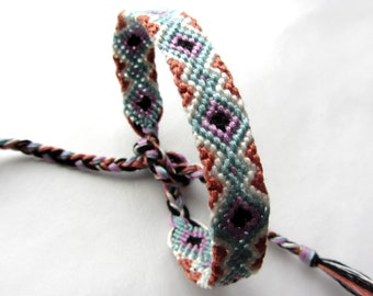 Mint Friendship Bracelet -Hand Woven -Made to Order