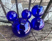Cobalt Blue Glass, Set of...