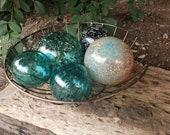 Teal and Gold Floats, Set...