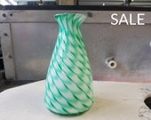 Feather Patterned Vase, D...
