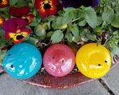 Spring Chicks, Set of Thr...