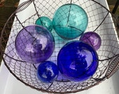 Glass Balls, Blues and Pu...