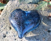 Dark Blue Sparkle Glass H...