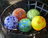 Colorful Spotted Set of F...