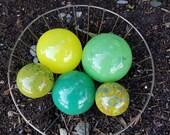 Green, Yellow & Turquoise...