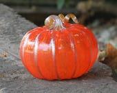 Halloween Glass Pumpkin, ...