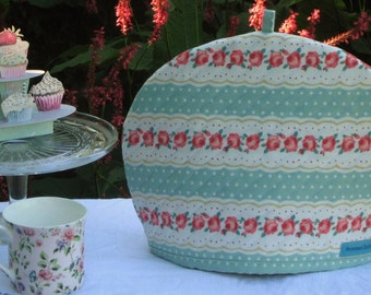 Pretty Maids All in a Row - Tea Cosy, Quilted Tea Cosy, Handmade Size:Large