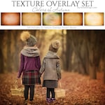 Photoshop Overlays | Texture Overlays - COLORS OF AUTUMN - Expertly Designed, Digital Overlays | Photography Backdrops.
