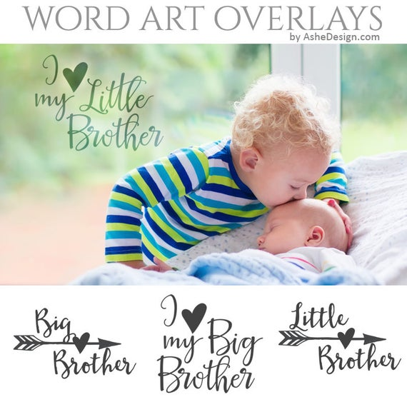 Family Word Art Quotes Photo Overlays For Scrapbooking Big Etsy