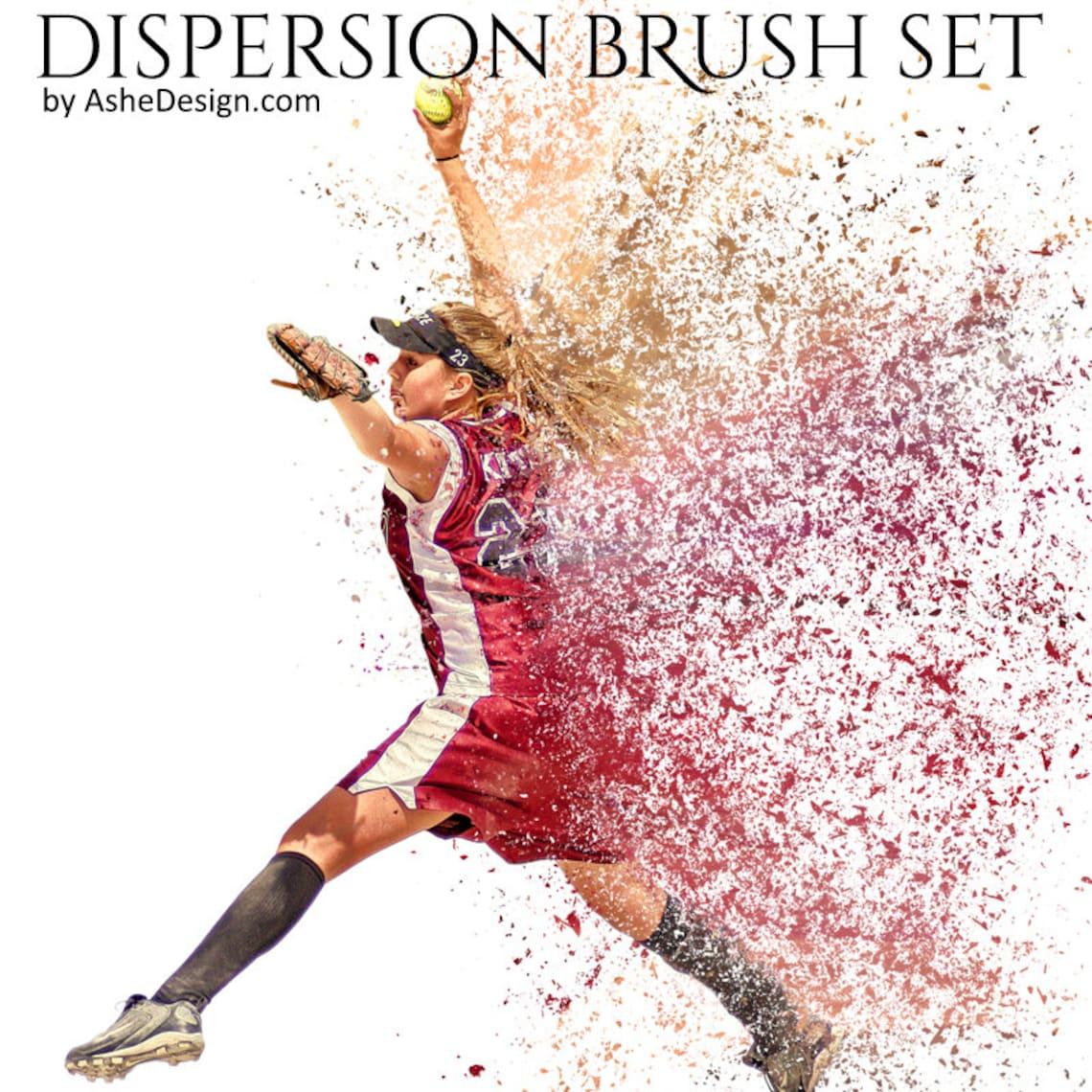 Photoshop Brush Set Dispersion Dust Particles 1 .abr image 0