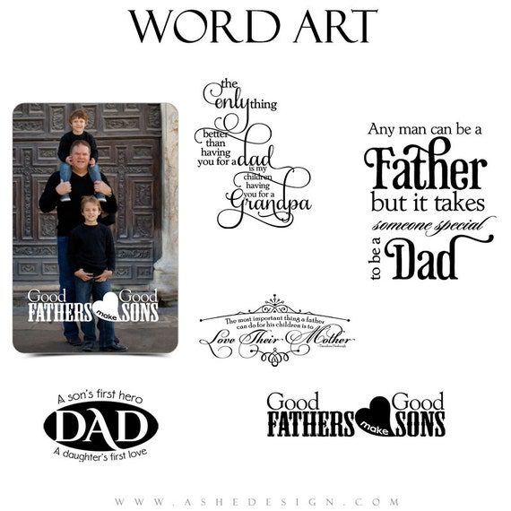 Family Word Art Quotes Photo Overlays For Scrapbooking My Etsy