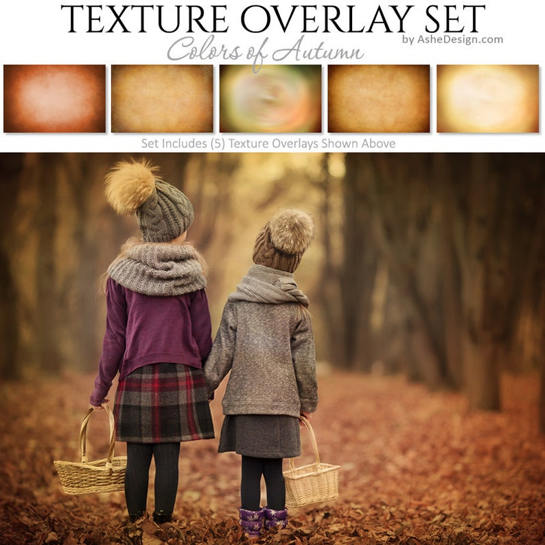 Photoshop Overlays  Texture Overlays  COLORS OF AUTUMN  image 0