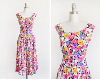 f4b5e042ff2 90s floral dress