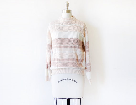 e10c960bbbaa 80s striped sweater