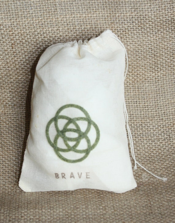 Items Similar To Brave Celtic Symbol Change Your Fate Muslin