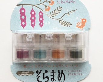 soramame versacraft ink pads   tsukineko rubber stamp ink pads   non toxic water based archival pigment ink for paper wood fabric   retro