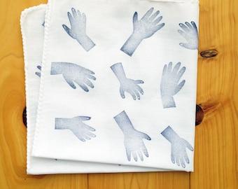 hands cotton handkerchief   ladies hand wipe   reusable nose wipe   kids face wipe   japanese hand wipe   eco friendly gift   talktothesun