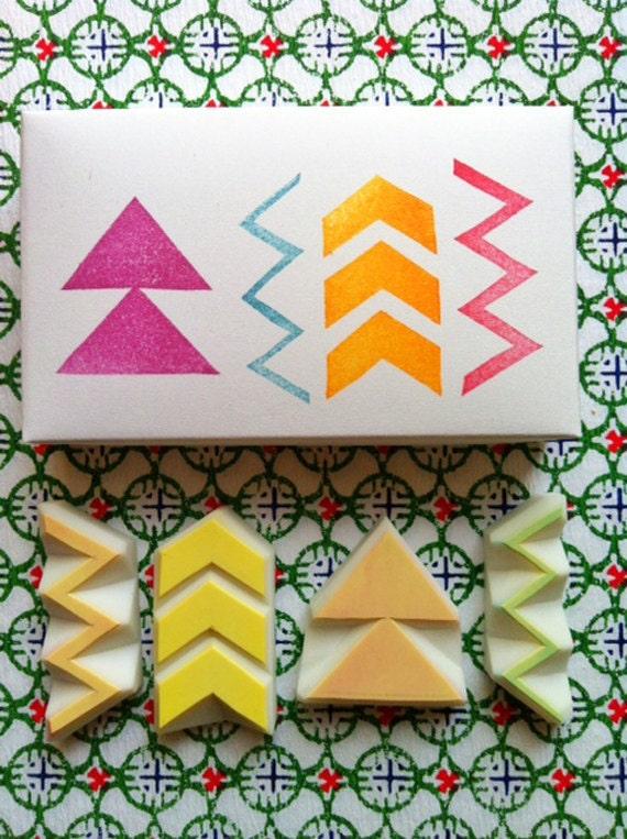 1ccbb73847d4 timbres de motif géométrique   Zig-Zag de Chevron flèche   gravé tampon  gravé ...