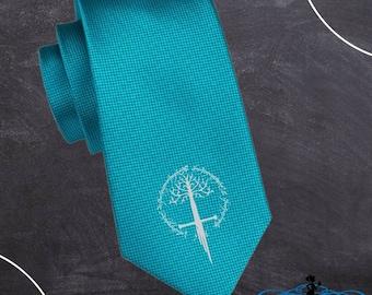 Tie bar tie clip funny Head Nerd In Charge