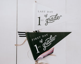 PRINTABLE | First and Last Day of School Flag