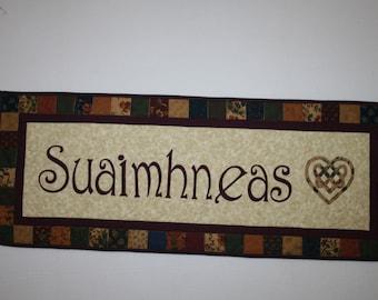 Suaimhneas  Tranquility, Inner Peace