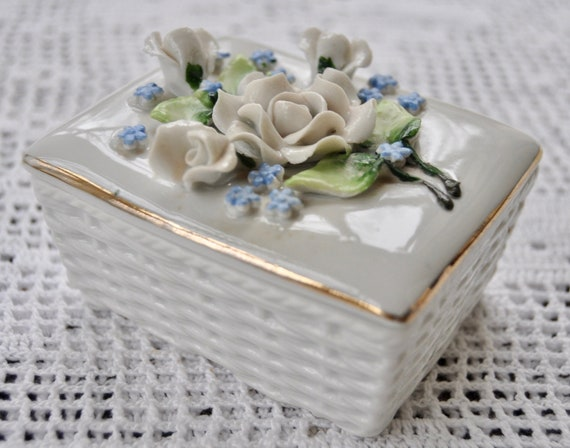 Antique German Ring Box Engagement Ring Box