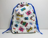 Drawstring Bag Craft Knit...