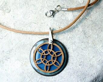 Yoga Jewelry, Mandala Necklace, Boho Necklace, Mandala Jewelry, Meditation Gifts, Spiritual Jewelry, Sacred Geometry, Healing Jewelry